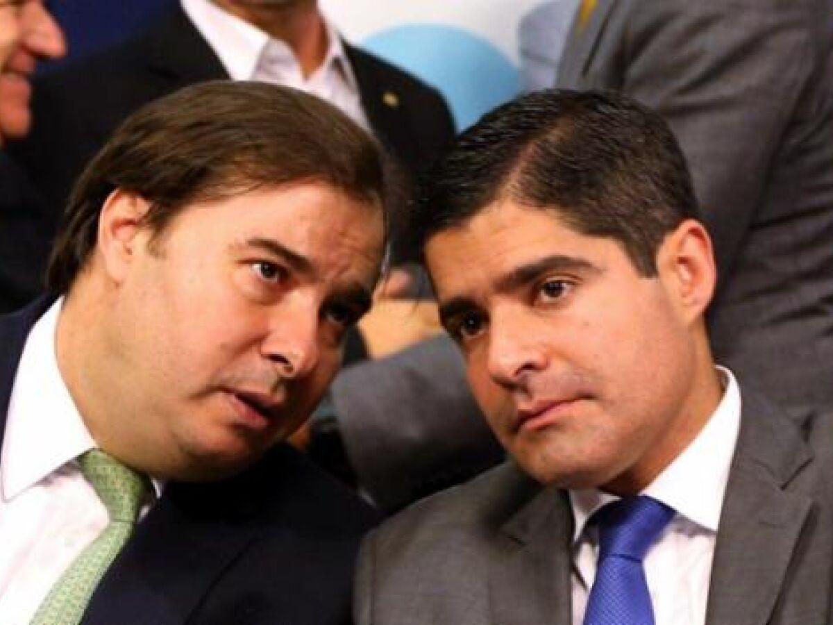 Rodrigo Maia se encastelou no poder e demonstra descontrole', diz ACM Neto - Folha PE