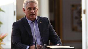 Presidente cubano acusa EUA de querer provocar 'revoltas sociais' em Cuba
