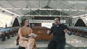 Isabela Pontes entrevista padre Arlindo, de Tamandaré