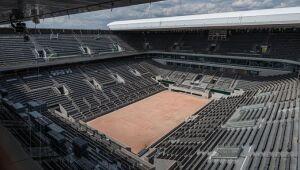 Roland Garros diz que terá até 60% de público na edição deste ano