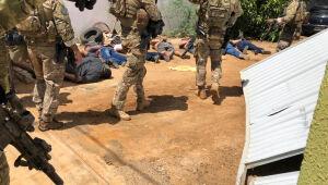PF prende 11 membros de quadrilha de assaltantes de carros-fortes com atuação em Pernambuco