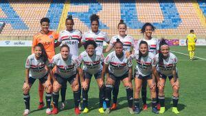 São Paulo goleia o Taboão por 29x0 pelo Paulista feminino