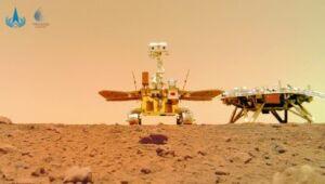 """China deixa sua """"marca"""" em Marte"""