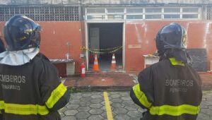 Explosão em subestação de energia deixa dois feridos em prédio do Dnit e da PRF no Pina