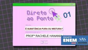 DIRETO AO PONTO - QUÍMICA