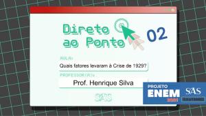 DIRETO AO PONTO - HISTÓRIA