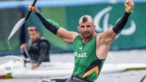 Luis Carlos Cardoso ganó la medalla de plata en piragüismo