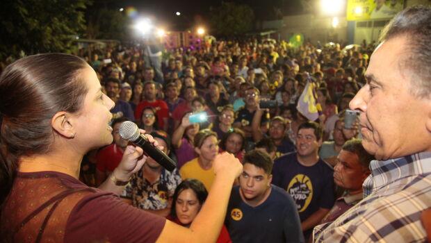 Raquel Lyra apresenta propostas na zona rural de Caruaru