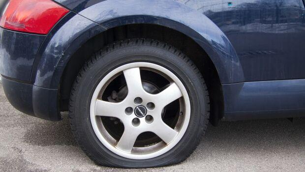 Imprevisto com o pneu: o que fazer?