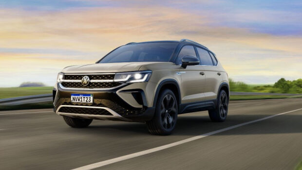 Volkswagen apresenta o SUV Taos no Brasil