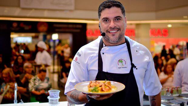 Chef Rapha Vasconcellos homenageia as mulheres com o prato Aurora