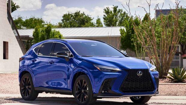 Lexus NX 2022 estreia como primeiro híbrido plug-in da marca; veja detalhes