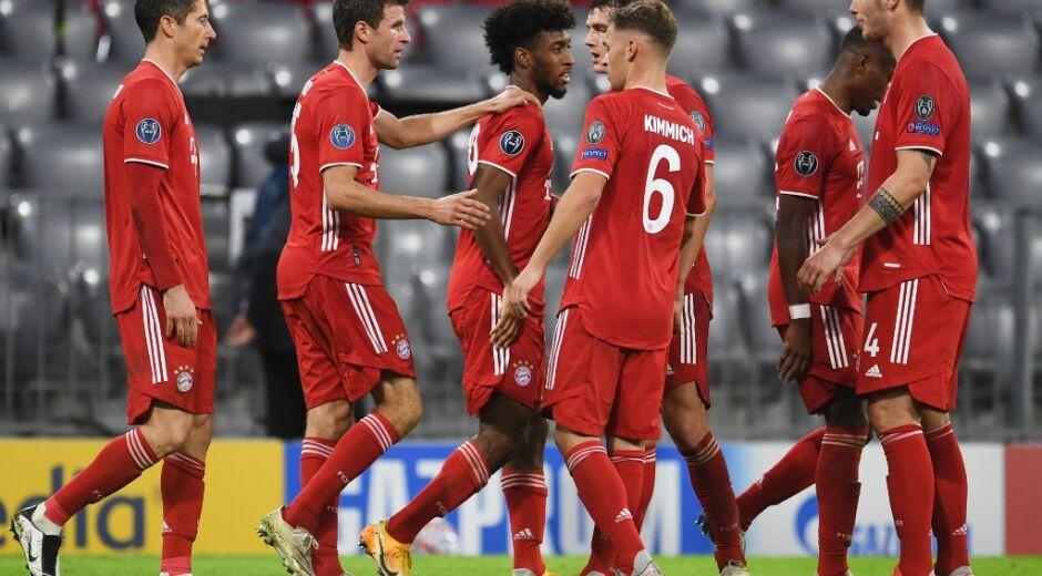 Bayern de Munique atropela Atlético de Madrid na Liga dos Campeões