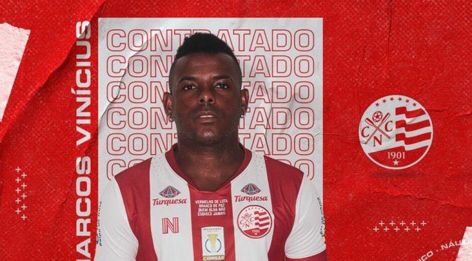 Marcos Vinícius é regularizado e pode estrear diante do Cruzeiro