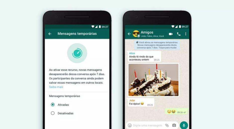 Saiba como ativar as mensagens temporárias no WhatsApp