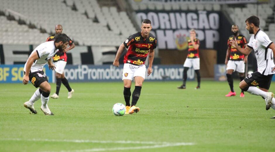 Sport perde por 3x0 para o Corinthians e se aproxima do Z4