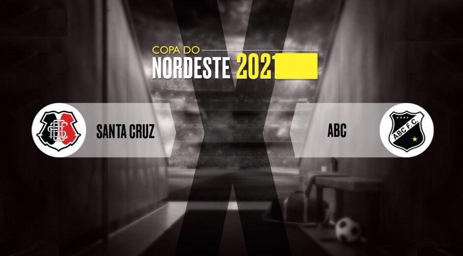 Acompanhe os detalhes de Santa Cruz x ABC, pela Copa do Nordeste