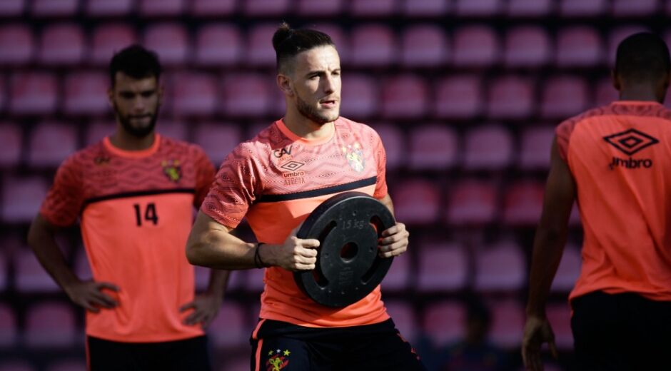 Será que Barcia não retorna neste ano ao time do Sport?