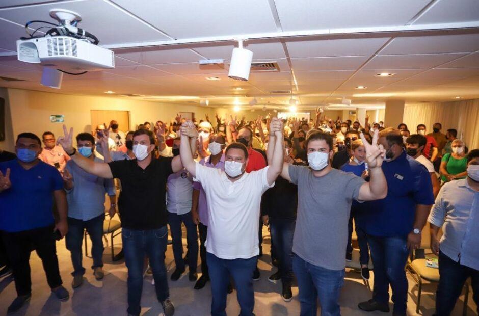 Wanderson promove evento no Recife e define apoio a Fernando Filho e Miguel Coelho