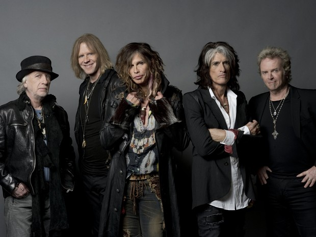 Aerosmith canta no Classic Hall