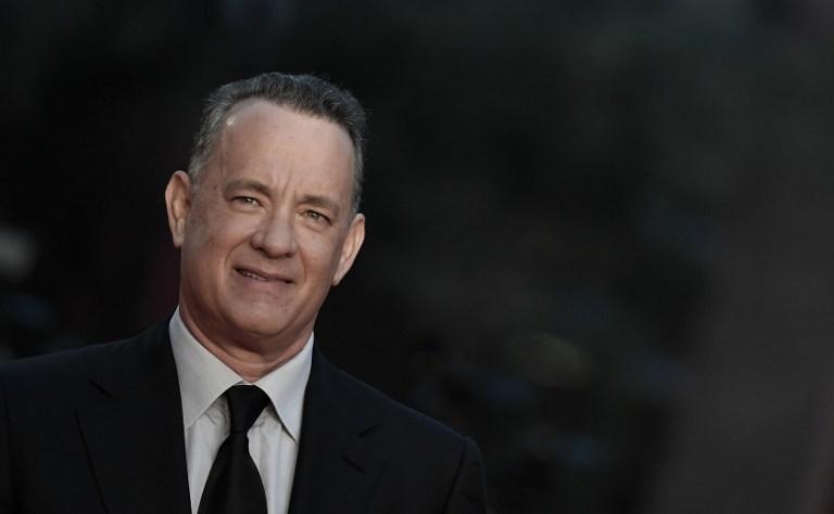 Vencedor de dois Oscars, Tom Hanks