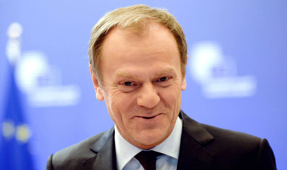 O presidente do Conselho Europeu, Donald Tusk