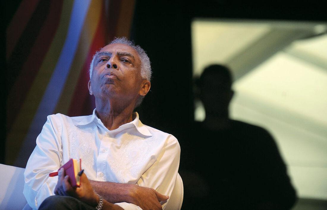Cantor e compositor baiano Gilberto Gil