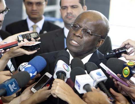 Joaquim Barbosa é ex-presidente do STF