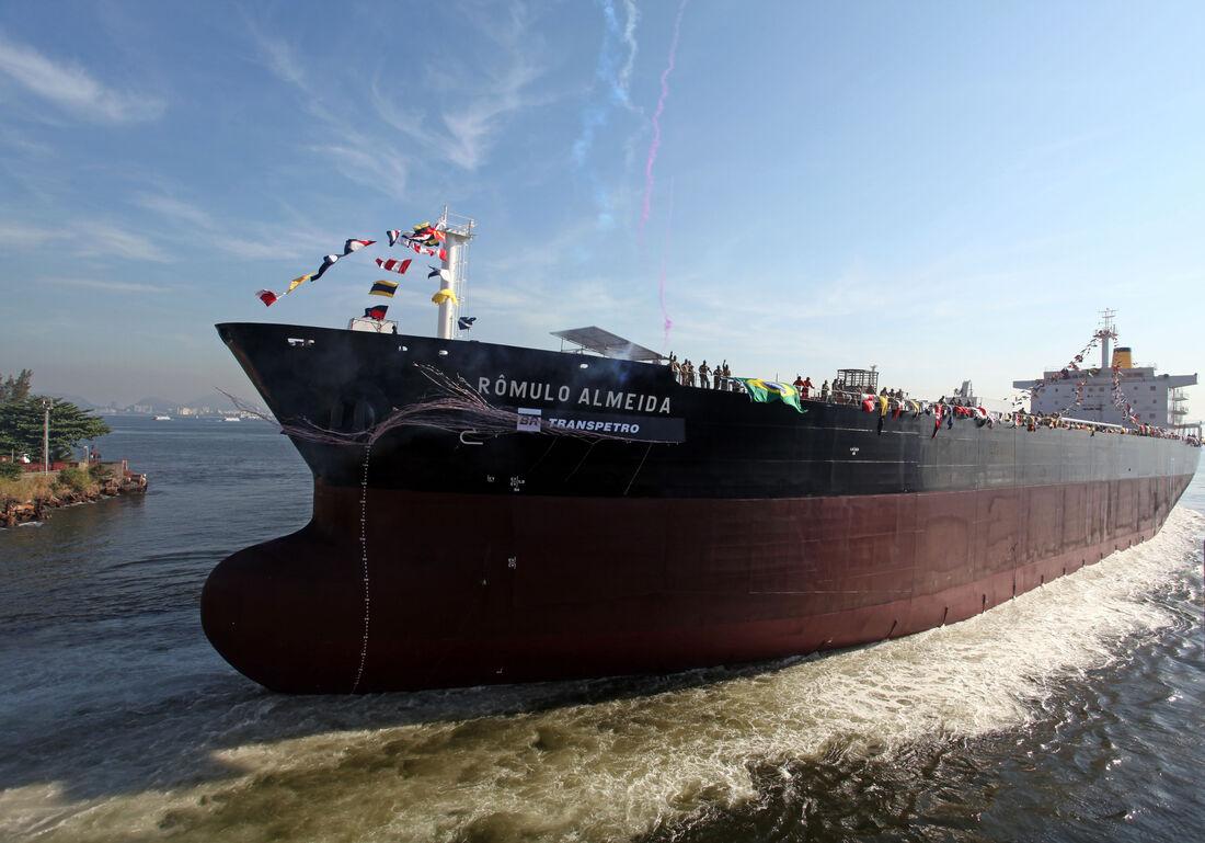 Navio da Transpetro