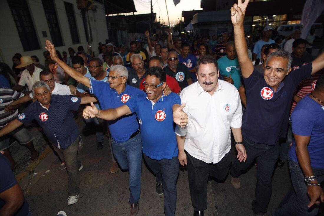 Neco em campanha à Prefeitura de Jaboatão dos Guararapes