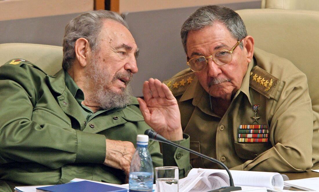 Fidel Castro e Raul Castro