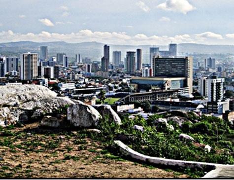 Vista aérea de Caruaru