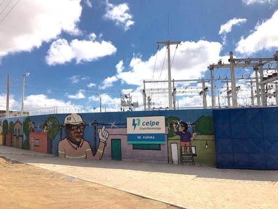 Subestação da Companhia Energética de Pernambuco