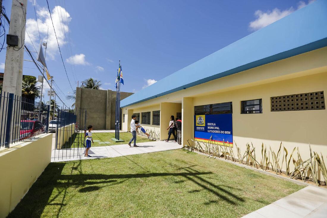 Escola municipal no Recife