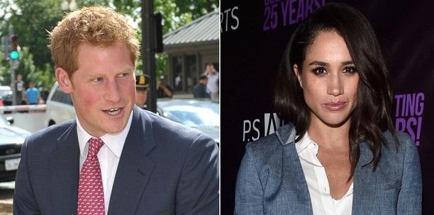 Príncipe Harry e namorada