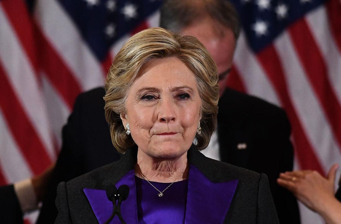 Ex-candidata à presidência dos EUA, Hillary Clinton