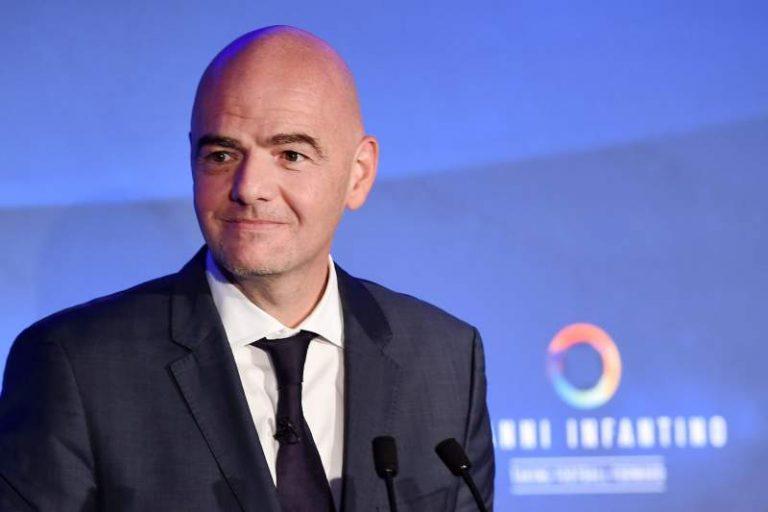 Mandatário da Fifa, Gianni Infantino