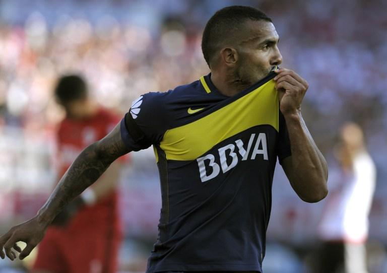 Atacante Carlos Tevez é ídolo no Boca Juniors