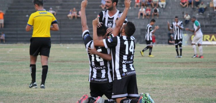 Jogadores do Central comemoraram gol no Campeonato Pernambucano