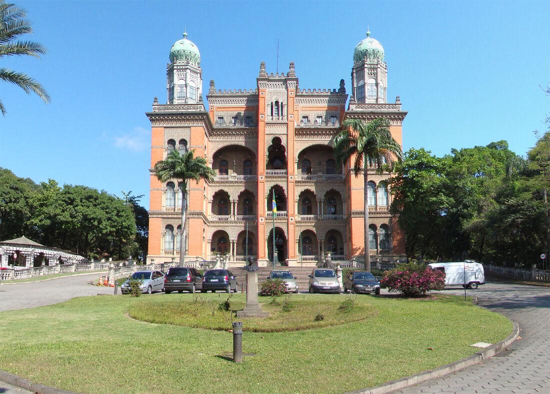 Palácio de Manguinhos, a sede da Fiocruz