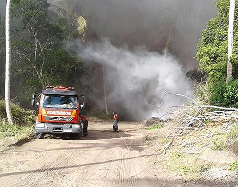 Incêndio em Itapissuma