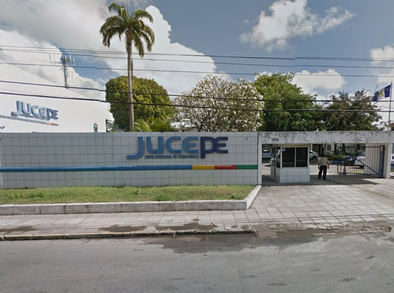 Prédio da Jucepe, no Recife