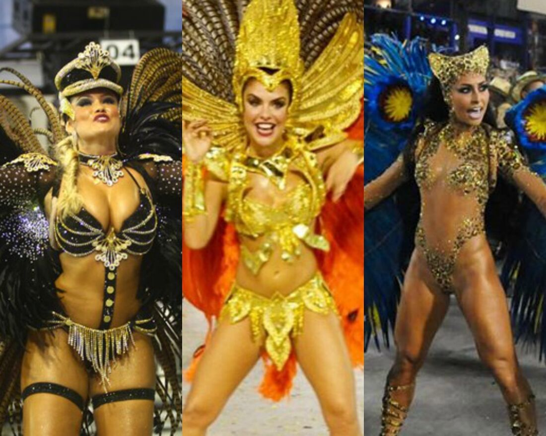 Ellen Roche, Paloma Bernardi e Sabrina Sato prometem roubar a cena no Carnaval 2017