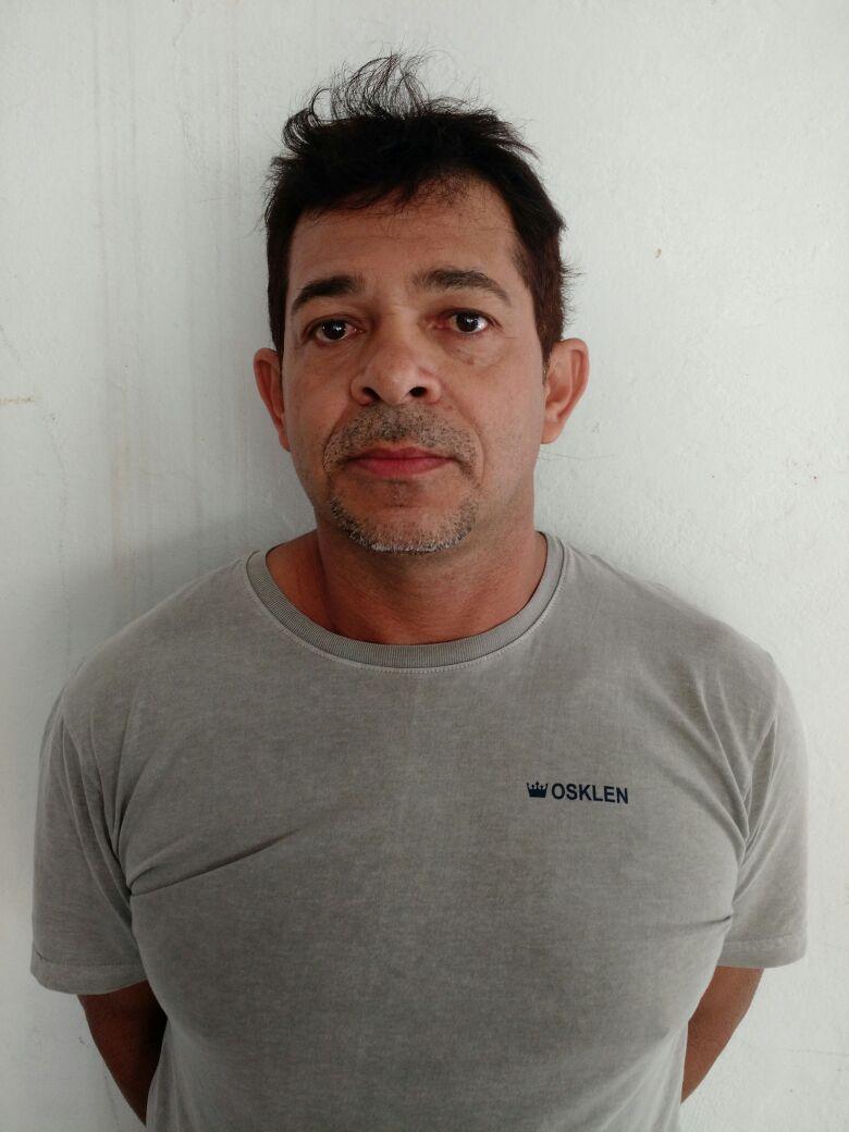Luciano Mota do Nascimento, suspeito de mandar matar a esposa na Paraíba