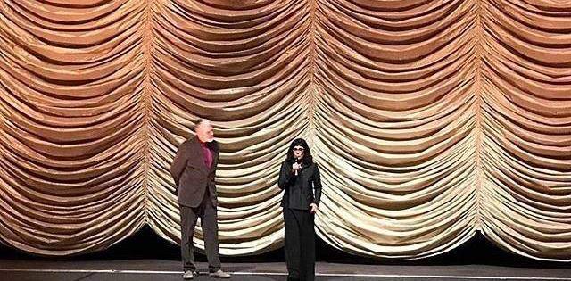 """Durante o Berlinale, a diretora brasileira Daniela Thomas prestou uma homenagem ao Cinema Brasileiro e à ANCINE; seu filme, """"Vazante"""", foi escolhido para abrir a Panorama na Berlinale"""