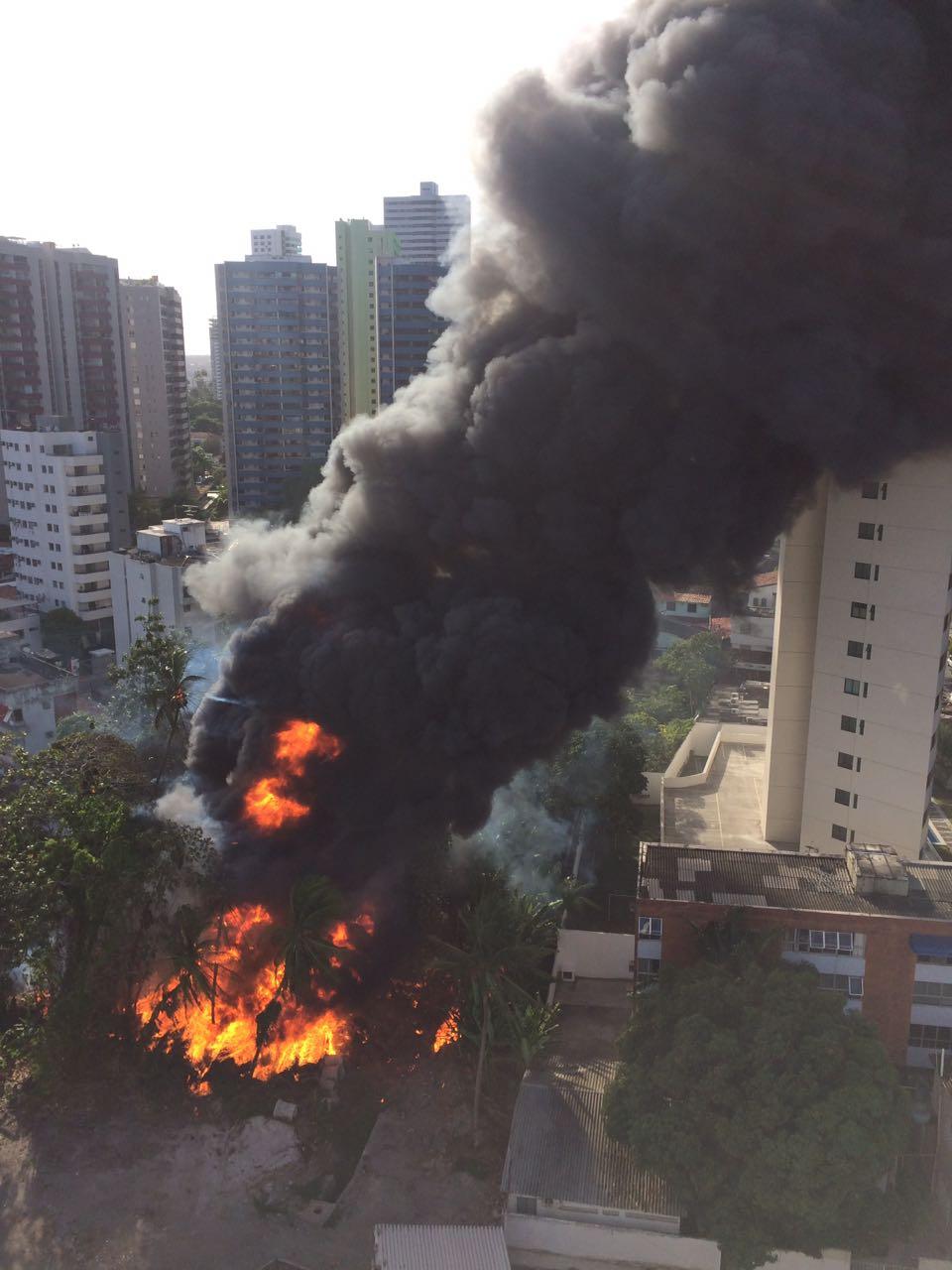 Incêndio em Casa Forte