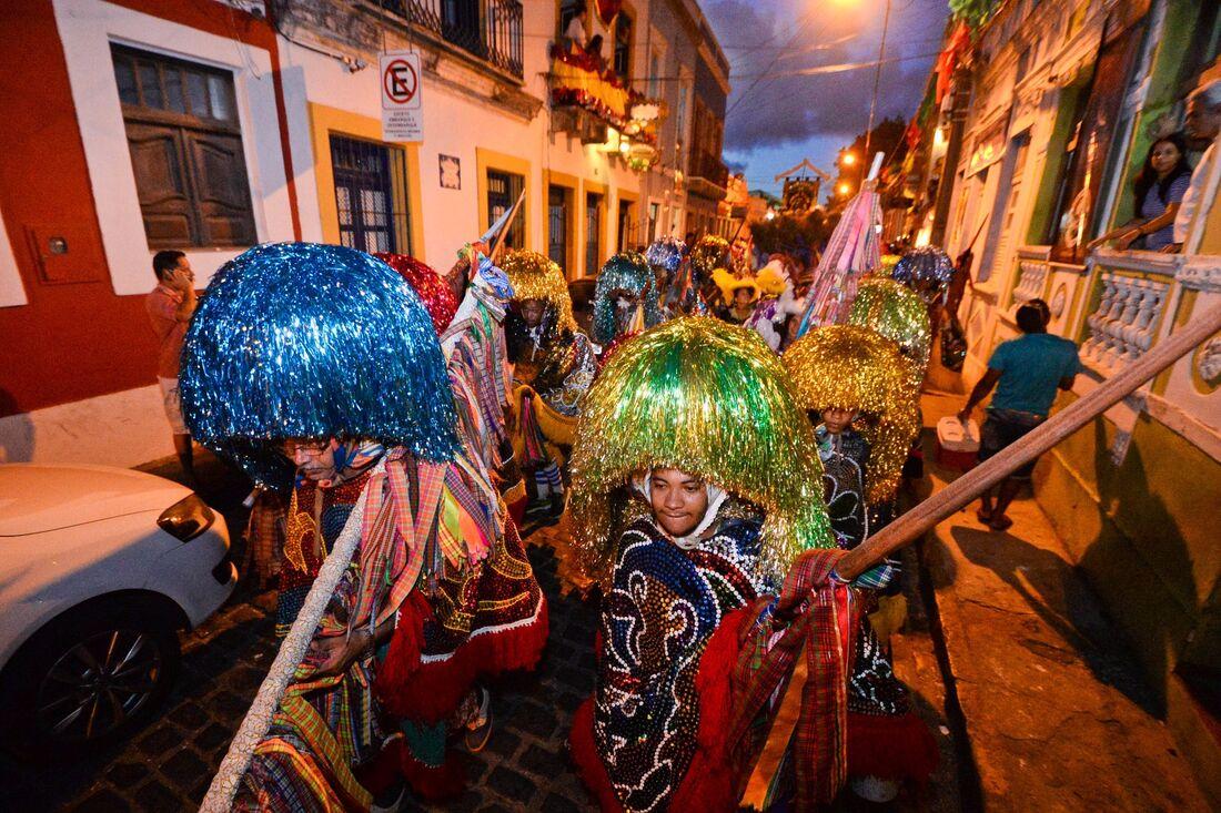 Cortejo da abertura do Carnaval de Olinda