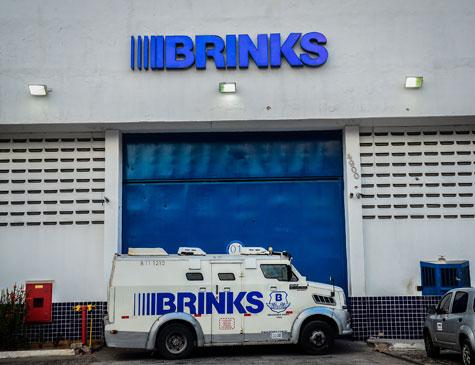 Brinks foi assaltada na madrugada