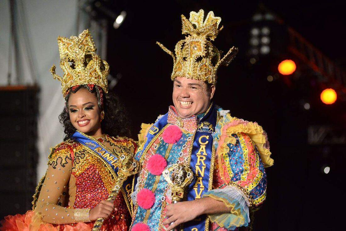 Rei Momo e Rainha do Carnaval do Recife 2017