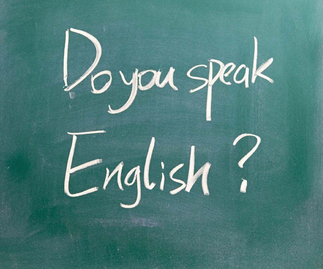 Entre os cursos, está o de inglês